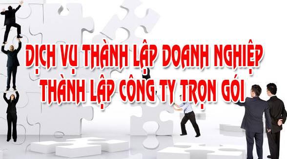 Dịch vụ thành lập công ty trọn gói tại Quận Tân Phú